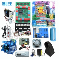 Arcade PCB Board Fruit King / Football Star Casino Slot Game Machine Kit With Mario Keyboard