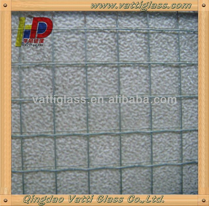 Supply Wired Glass,Wire Reinforced Glass,Wire Mesh Security Glass ...