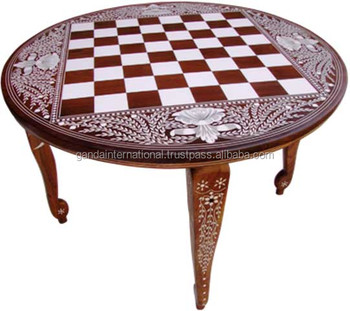 Good Round Chess Table 24 Inch