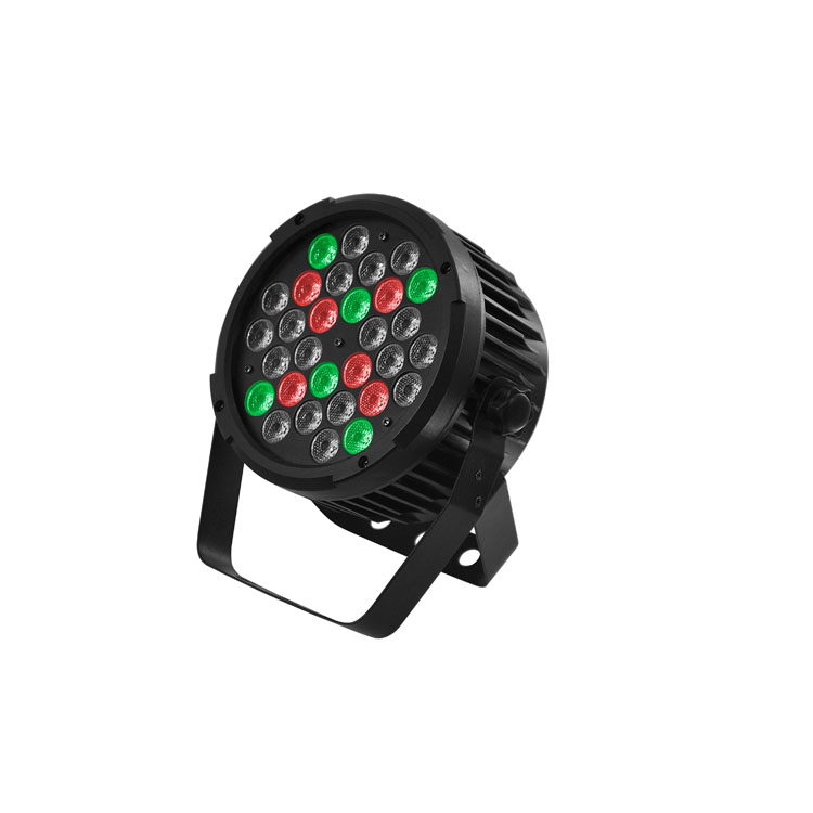 Stage Light 60W 30PCS RGBW UV LED Par Can Light