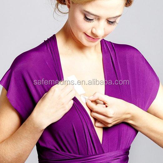 ง่ายต่อการใช้งานสองด้านแฟชั่นร่างกายชุดชั้นในเทปสำหรับชุดราตรี