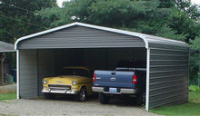 Cheap Mobile modern Car Garage Prefab Steel Structure folding Car Garage with low cost