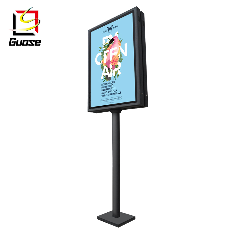 Indoor and outdoor LED advertising light box furniture <strong>sign</strong>