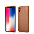 도매 Custom Oem Genuine Leather Mobile Casing 쉘 다루고 셀 Cover Case 폰 건 대 한 iPhone X Xs Max 대 한 apple