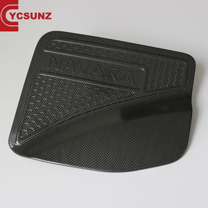 YCSUNZ Carbon fiber tank Cover fuel tank cap ABS petrol cap For Navara NP300 2014 accessories