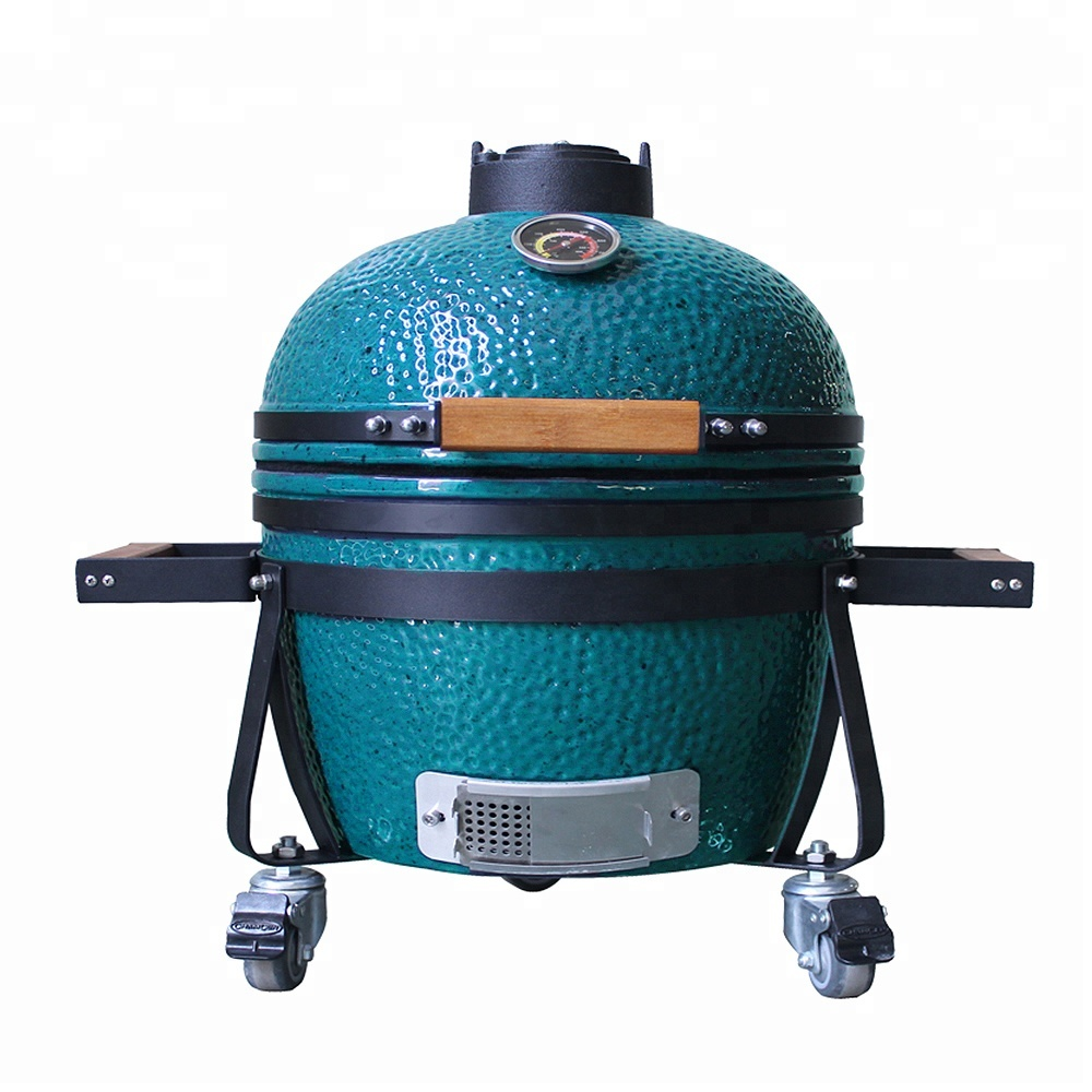 Factory Online Japanse Draagbare 14 15 inch BBQ Roker Keramische Kamado Grill