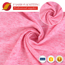 New arrival fancy polyester linen jarsey cloth made knit fabric