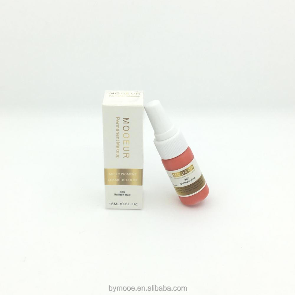 Beauty Art Micro Tattoo Organic Pigment For Permanent Makeup
