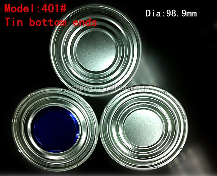 401#(98.9mm) Sell diferent stytle tinplate bottom ends