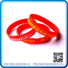 brand new Custom design promotional items silicone wristband for corporate anniversary gifts