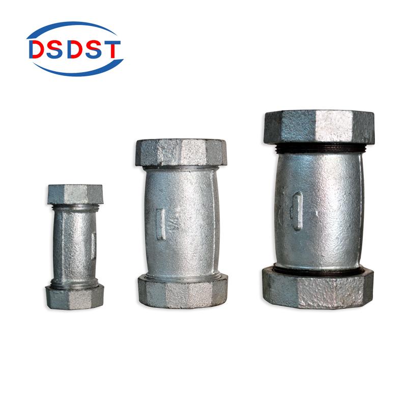Malleable Pipe Fittings Cast Iron Long Compression Couping ...