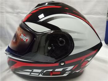 Design Helm 2017 design popular helmet dual visor yema helmet