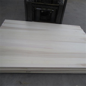 Customized White Poplar Tree Wood Board For Furniture