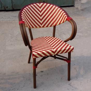 pas cher en rotin chaise bistrot franais chaise de salle chaise salon de jardin - Chaise Bistrot Rotin