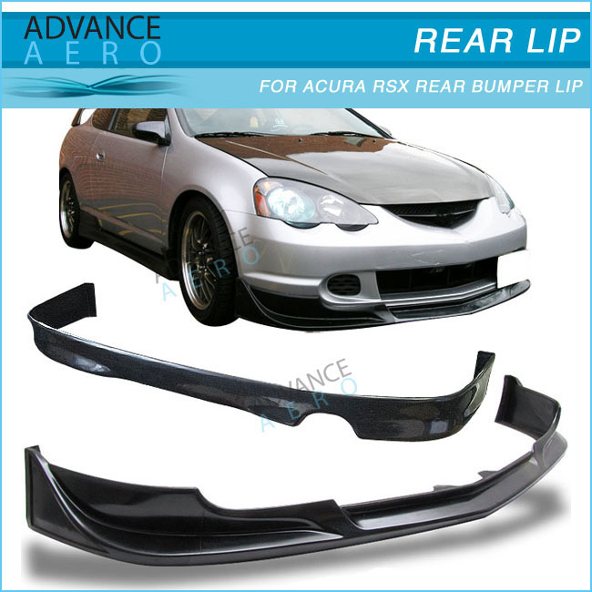 Hot Sale Body Kit For Acura Rsx Dc5 Black Poly Urethane