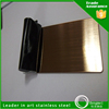 decorative hairline finish gold color stainless steel sheets for sale