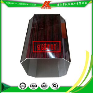 High Quality Aluminium profile Square Tubes/Pipes For Furniture