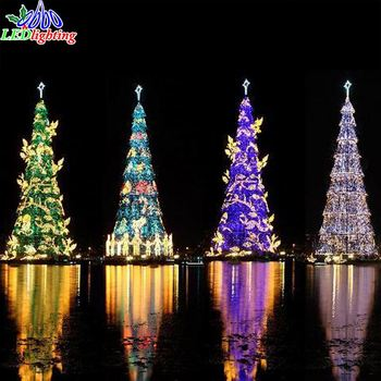 led maple leaf christmas tree light with led lights gnw tr254