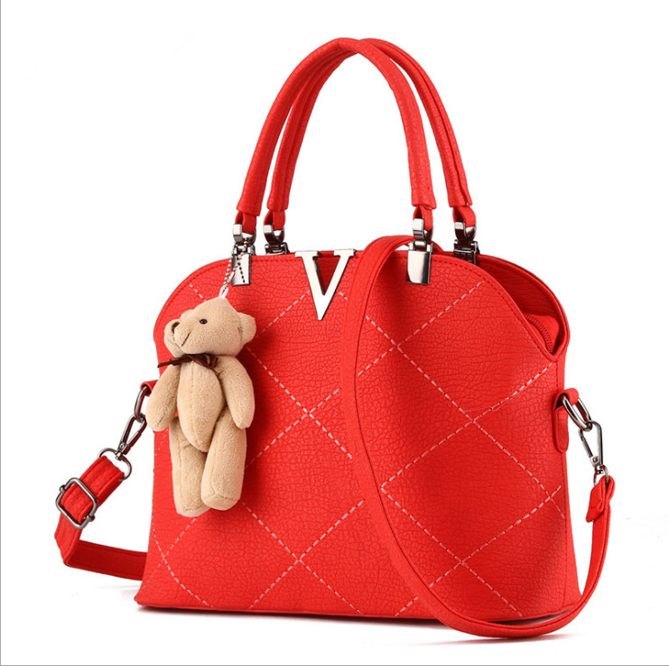 2018 fashion handbag factory price  Pu Leather Handbag For Women Handbag  Wholesale Handbags