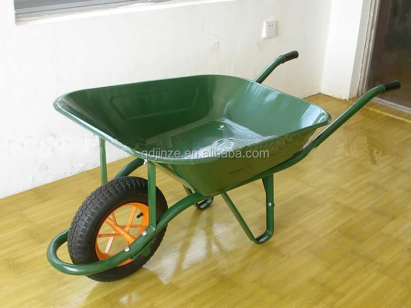 Top brand high quality WB6400 Wheelbarrow price,metal bucket wheel barrow