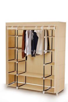 Triple Door Canvas Portable Closet Tm 210