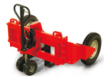 1200kg capacity adjustable forks Rough Terrain Truck.