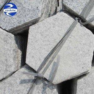 Flamed Cheap Hexagon Granite Paving Stone