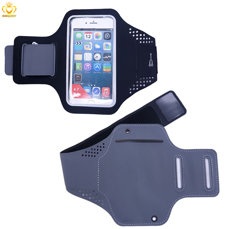 Ultra Thin Breathale Lycra Fitness Sport Armband Running Smart Phone Arm Bag
