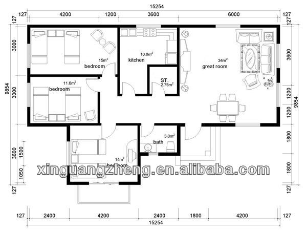 Modulare prefabbricata casa di design flessibile case prefabbricate id prodotto 786666370 - Casa modulare prefabbricata ...