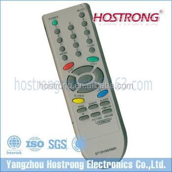 America Popular Model 6710v00090d Tv Remote Control For Videocon Tv