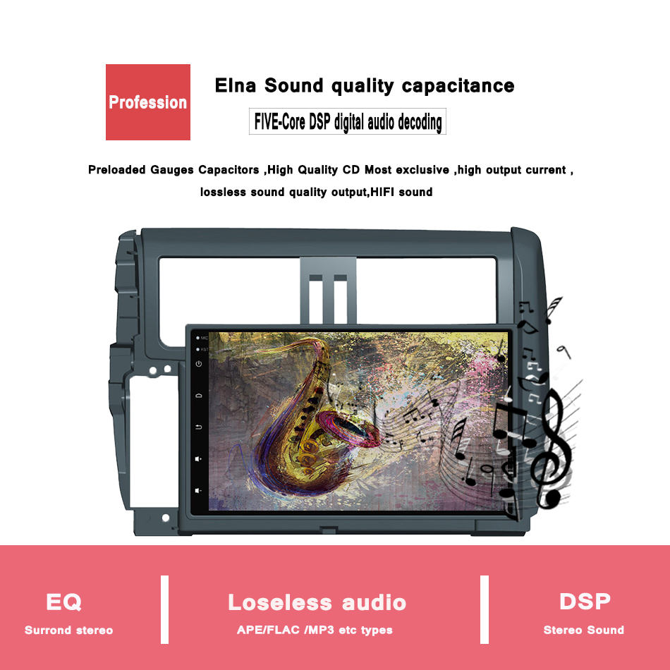 Quad Core Android 6.0.1 <strong>CAR</strong> Radio video DVD GPS Player For <strong>Toyota</strong> Prado 150 2010 2013 <strong>car</strong> audio video multimedia DAB 3G WIFI