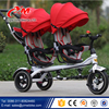 Double seat children tricycle/kids tricycle/new model baby trike