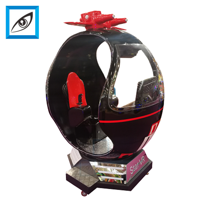 2018 V new 360 rotational 9d vr simulator coin operated <strong>games</strong>