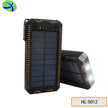 HL-S012 10000mah 5.5V/1.8W Cig Lighter Solar Charger, 800 Times Charge