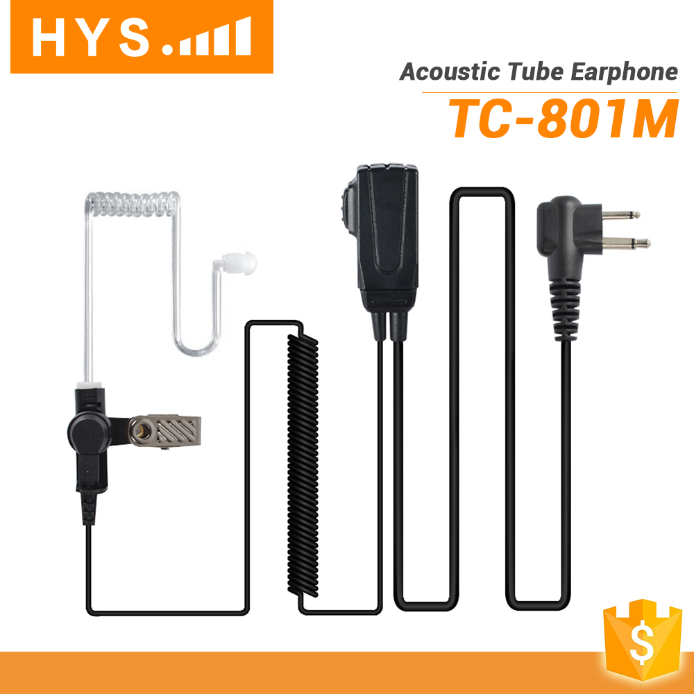 HYS High quality Mini Spy FM Radio Walkie Talkie Earpiece for EP450 XTS3000