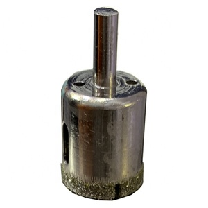 Diamond tool electroplated core drill bit for granite marble glass