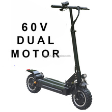 2018 China 60V 1000W dual motor fast adult folding electric bicycle