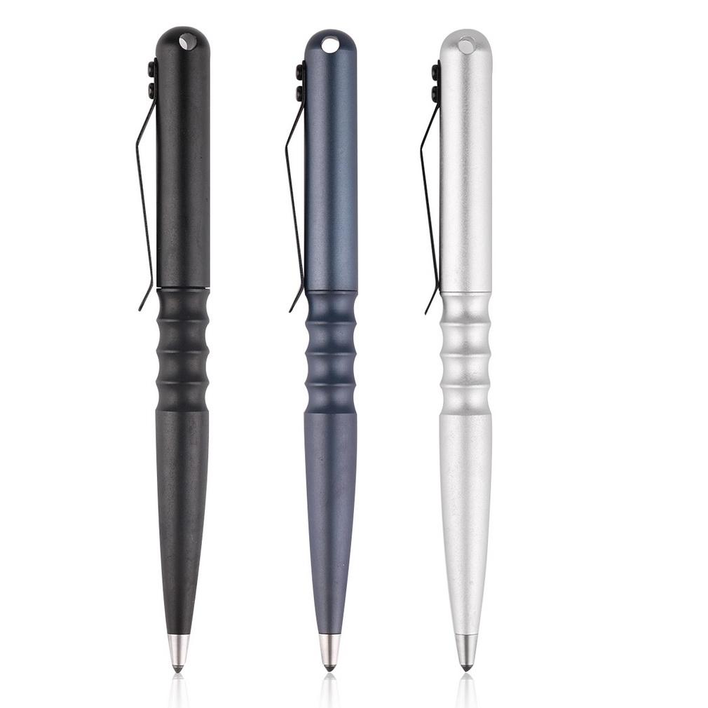 Многофункциональный тактический ручка против небуксующий жесткий анодного окисления самообороны портативный открытый кемпинг инструмента экстренной