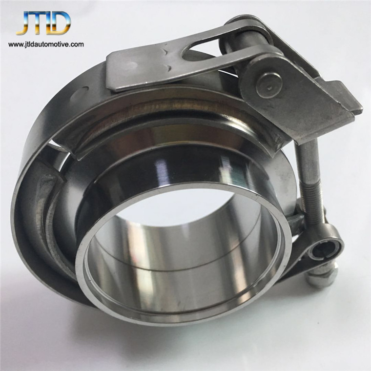 "1.5""-6"" turbo 304 stainless steel V band exhaust clamp with flanges kits"