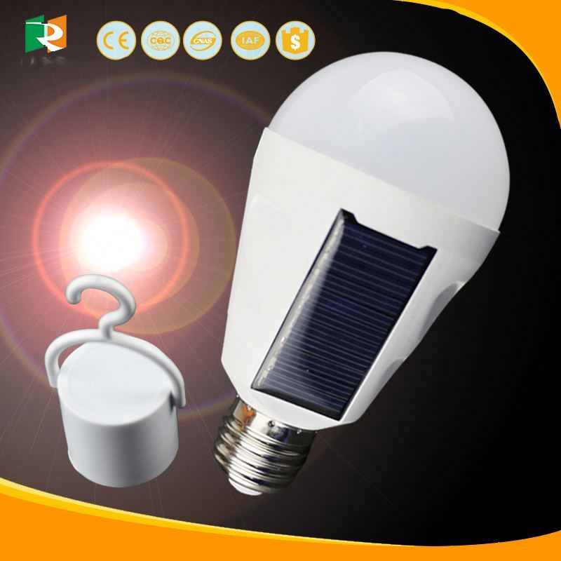 black,solar panel power 0.3W,7 Leds 6LM/led,rechargeable battery,solar LED light bulb/garden lamp/soalr castle