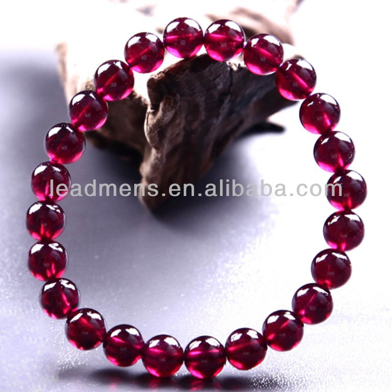 Lucky exorcise elegant natural Brazil bead garnet Bracelet Jewelry, LeadMens genuine quality, exquisite gifts fashion accessor