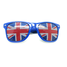 Cheap Yiwu Wholesale Promotional UK Flag Sunglasses, World Cup Soccer Fans Item Sunglasses