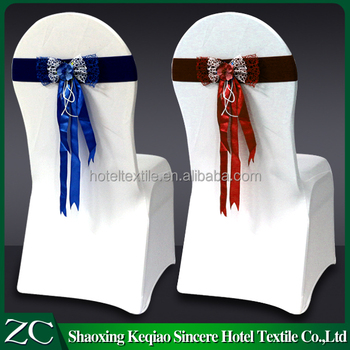 Strange Fancy Convenient And Fast Decoration Wedding Hotel Banquet Dining Chair Bow Chair Sash Buy Pre Tied Wedding Bow Decorative Bows For Sale Lace Chair Lamtechconsult Wood Chair Design Ideas Lamtechconsultcom