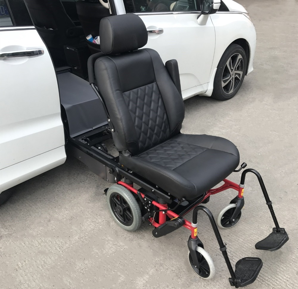 Special disabled used swivel car seat with wheelchair for 120KG load capacity