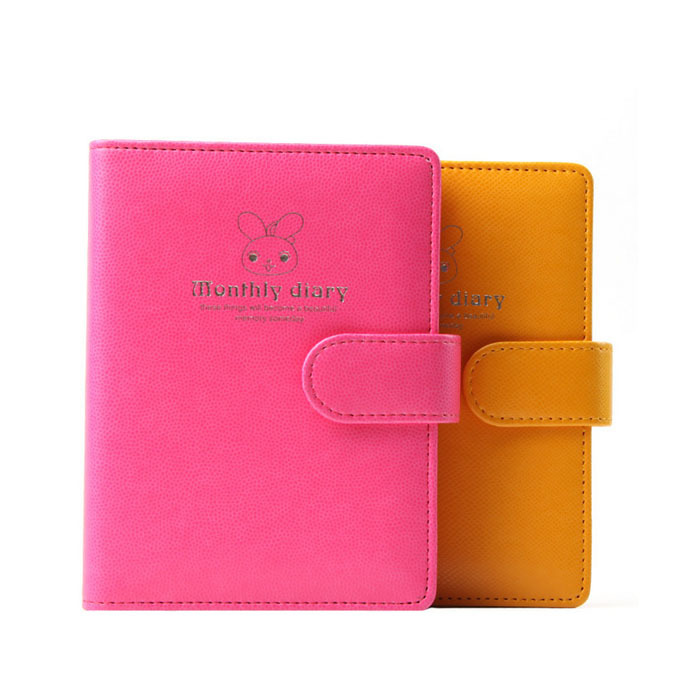 picture relating to Cute Planners and Organizers named Purchase Brand name Regular monthly Weekly Working day Organizer planner Lovable Leather-based