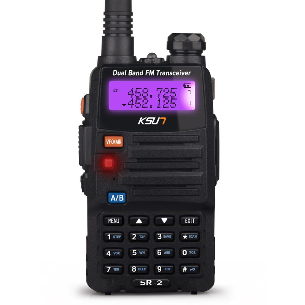 High quality KSUN UV5D-H1 Walkie Talkie phone VHF&UHF Radio Walkie Talkie Long Range Two Way Radio Walkie Talkie