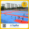 Topflor high quality outdoor PP interlock Basketball Flooring