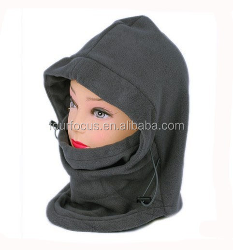Custom balaclava masker polar fleece balaclava ski mask hat brei patroon