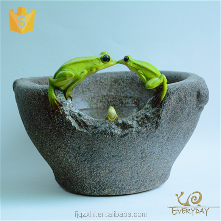 Wholesale Cheap Garden Resin Animal Big Planter Pot Artificial Large Bonsai Flower Pot
