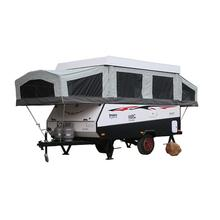 Hot-Sale Hard Floor Camper Trailer With Tent For Sale
